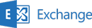 e-mail gehost Exchange server
