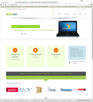 Website Vallei-ICT Ede
